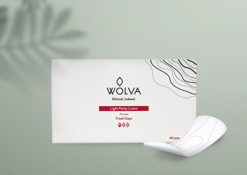 Wolva light panty liners front