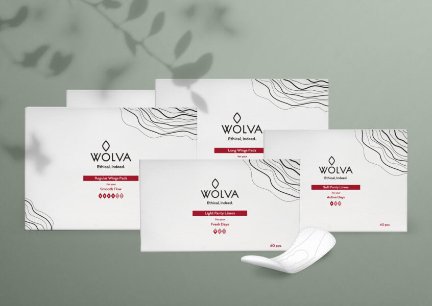 Wolva all pads and pantyliners